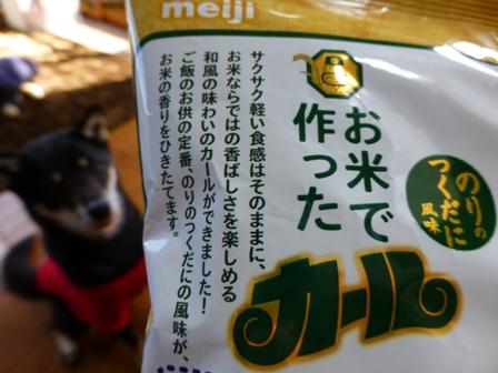 お米で作ったカール4