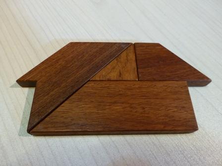木のパズル 『The-T』5