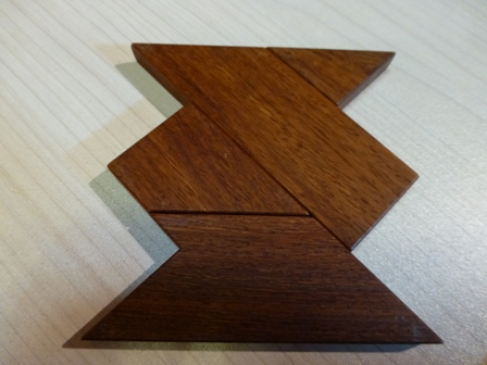 木のパズル 『The-T』8