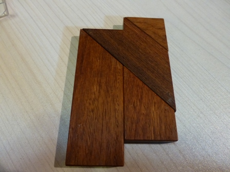 木のパズル 『The-T』10