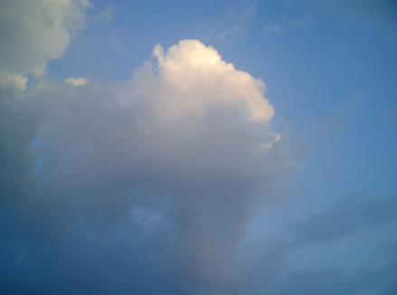 空、りこりょこ涼子漫画の1コマに。山口県、光市~下松。