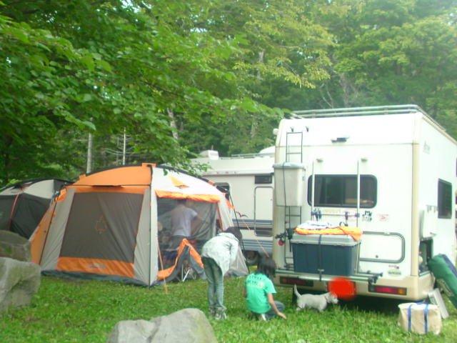 美笛キャンプ1