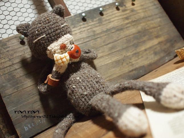 編みねこくんとパン1