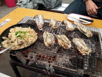 牡蠣小屋④