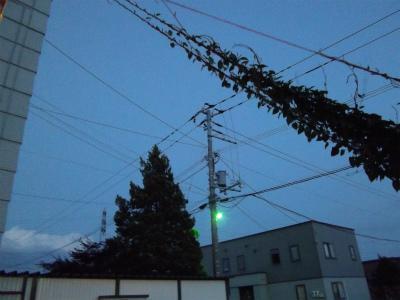 s92-7街灯が付き始めた