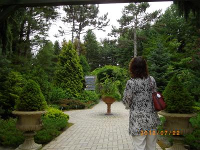 真鍋庭園入口