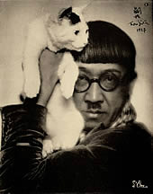 藤田嗣治と猫