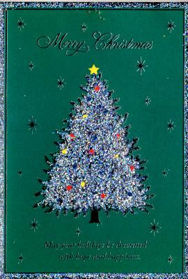 クリスマスカード(ツリー)