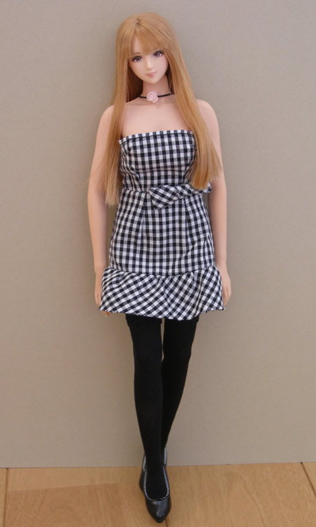 Gingham Check dress1