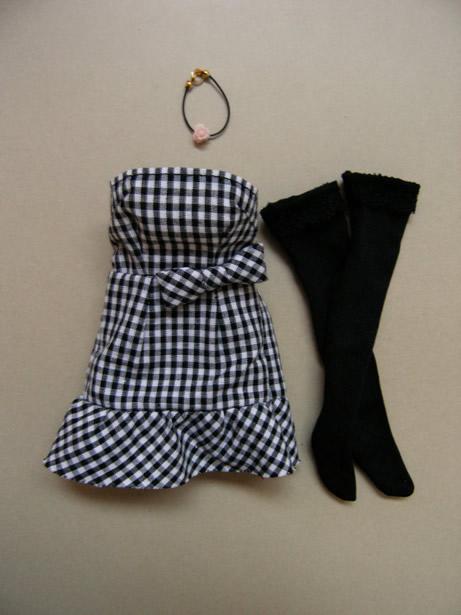 Gingham Check dress9
