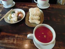 韓国 仁寺洞伝統茶院 韓菓