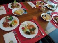 韓国 ホテル朝食ビュッフェ