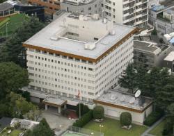 中国_在日中国大使館=2010年10月、東京都港区