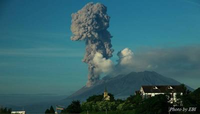 昭和火口噴火