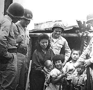進駐軍 子供たち