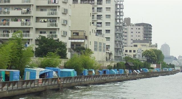 隅田川のホームレス