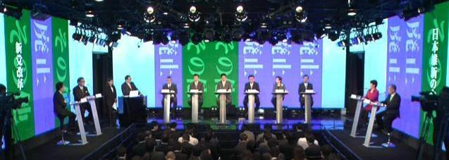 党首討論会