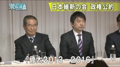 政権公約 「骨太2013~16」
