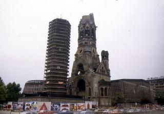 ウィルヘルム皇帝記念教会の塔