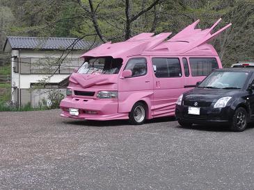 ピンクカー