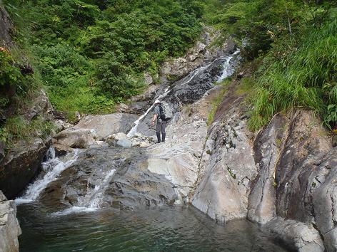 ウツボキ沢大滝