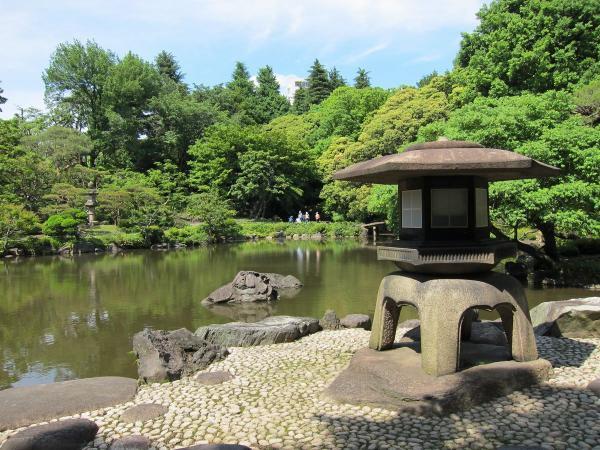 旧古河庭園・日本庭園2〔フリー写真〕