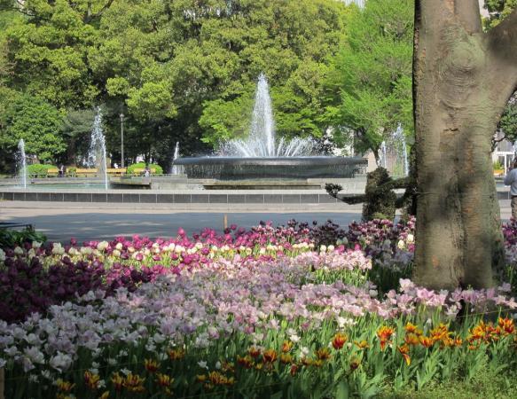 日比谷公園 大噴水5〔フリー写真〕