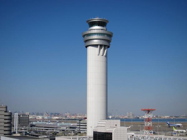 羽田空港 管制塔1〔フリー写真〕