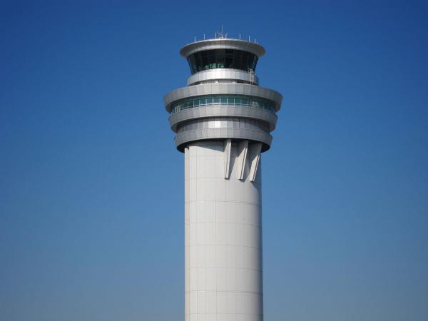 羽田空港 管制塔2〔フリー写真〕