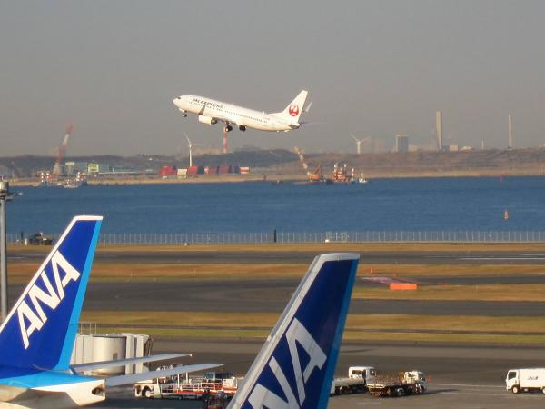 羽田空港 旅客機7〔フリー写真〕
