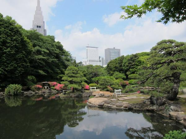新宿御苑 日本庭園2〔フリー写真〕