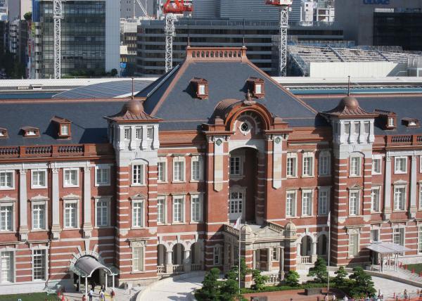 東京駅3〔フリー写真〕