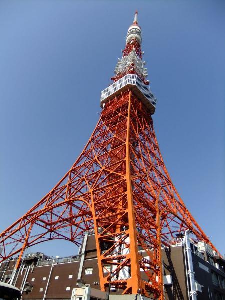 東京タワー3〔フリー写真〕