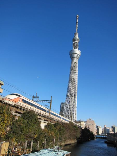 東京スカイツリー2〔フリー写真〕