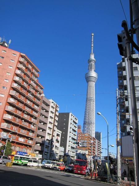 東京スカイツリー6〔フリー写真〕