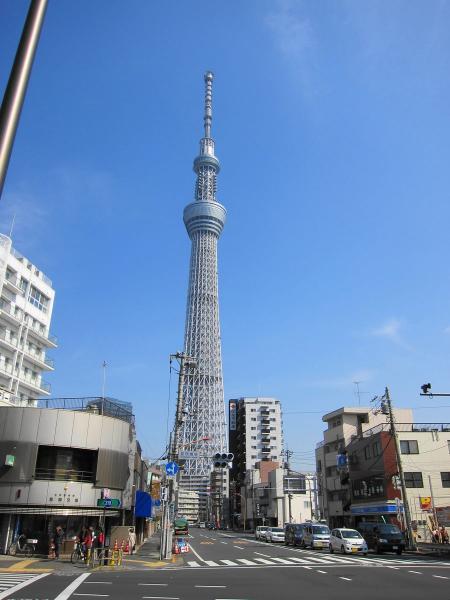 東京スカイツリー6-2〔フリー写真〕