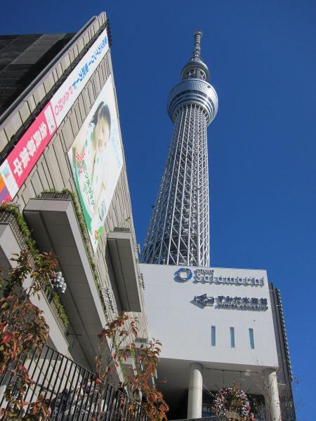東京スカイツリー17〔フリー写真〕