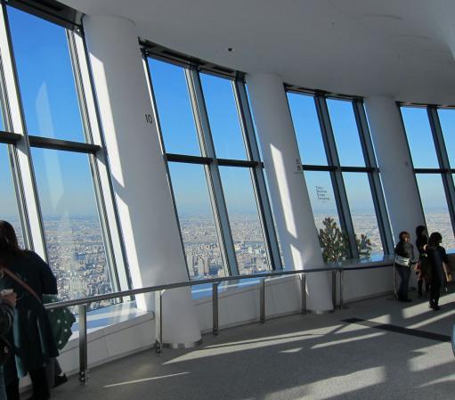 東京スカイツリー・展望回廊〔フリー写真〕