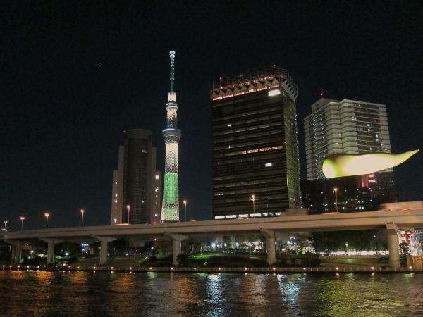 東京スカイツリー・ライトアップ9〔フリー写真〕