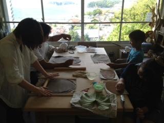 ファミリー陶芸