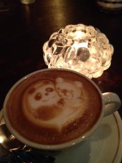 パンダとクマ