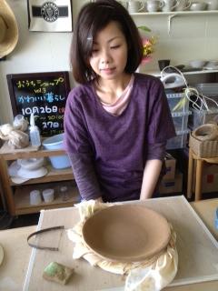 陽さんのお皿