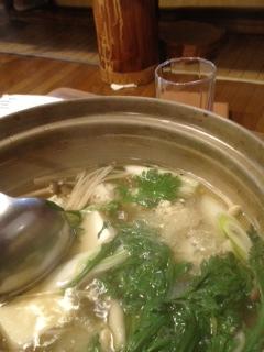 うつぼ団子鍋
