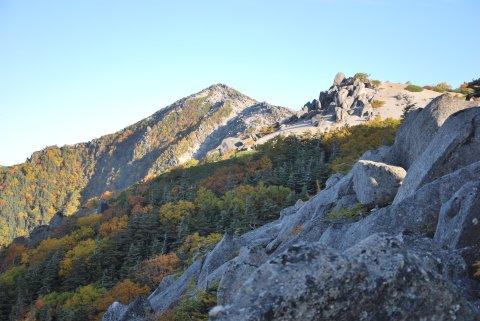 観音岳と砂払岳