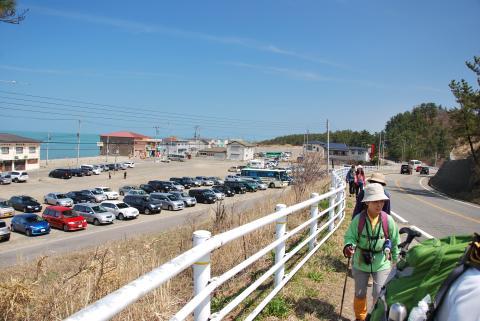角田浜駐車場