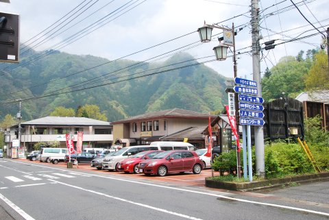 道の駅 上野全景