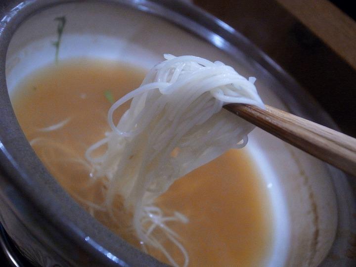 土鍋で土瓶蒸し、和亭