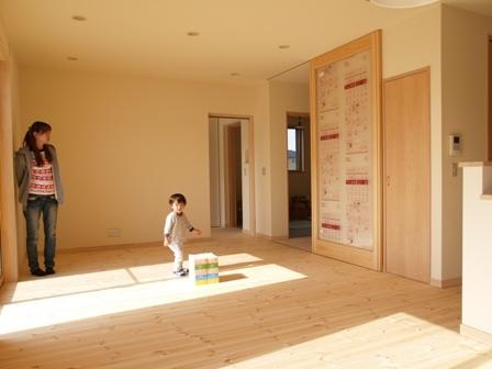 自然素材のやさしい家