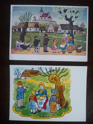 ヨゼフ・ラダのカード2枚