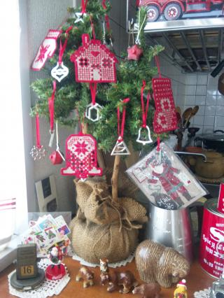 我が家のクリスマスツリー2012
